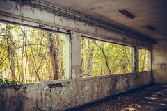 Εγκαταλειμμένες θέσεις - βέλη Στοκ Φωτογραφίες