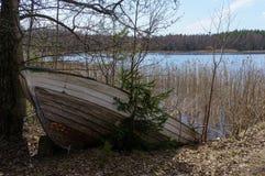 εγκαταλειμμένη λίμνη βαρ&kapp Στοκ φωτογραφίες με δικαίωμα ελεύθερης χρήσης