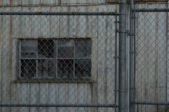 εγκαταλειμμένη αποθήκη εμπορευμάτων Στοκ Εικόνες
