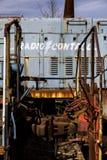 Εγκαταλειμμένη ατμομηχανή - τραίνο - Οχάιο στοκ εικόνες