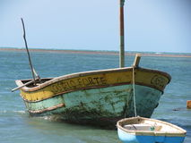 εγκαταλειμμένη αλιεία β& Στοκ φωτογραφίες με δικαίωμα ελεύθερης χρήσης