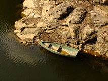 εγκαταλειμμένη βάρκα Στοκ φωτογραφία με δικαίωμα ελεύθερης χρήσης