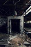 Εγκαταλειμμένη βιομηχανία - επιχείρηση Shanango Κίνα - το νέο Castle, Πενσυλβανία Στοκ εικόνες με δικαίωμα ελεύθερης χρήσης