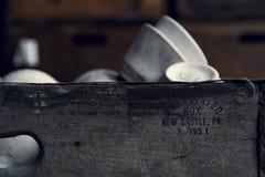 Εγκαταλειμμένη βιομηχανία - επιχείρηση Shanango Κίνα - το νέο Castle, Πενσυλβανία Στοκ Φωτογραφία