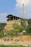Εγκαταλειμμένη βιομηχανία Ιταλία Στοκ εικόνες με δικαίωμα ελεύθερης χρήσης