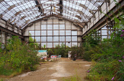 Εγκαταλειμμένη βιομηχανία Στοκ φωτογραφία με δικαίωμα ελεύθερης χρήσης