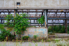 Εγκαταλειμμένη βιομηχανία Στοκ εικόνες με δικαίωμα ελεύθερης χρήσης