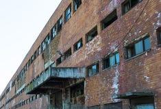 Εγκαταλειμμένη βιομηχανική δυνατότητα Στοκ Εικόνες