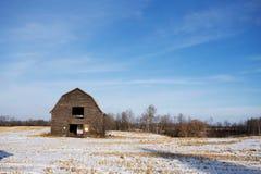Εγκαταλειμμένη παλαιά σιταποθήκη Στοκ Εικόνες
