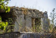 Εγκαταλειμμένη παλαιά σιταποθήκη Στοκ φωτογραφία με δικαίωμα ελεύθερης χρήσης