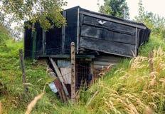 εγκαταλειμμένη σιταποθήκη παλαιά Στοκ εικόνες με δικαίωμα ελεύθερης χρήσης