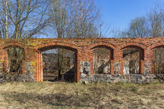 Εγκαταλειμμένη σιταποθήκη Στοκ φωτογραφία με δικαίωμα ελεύθερης χρήσης