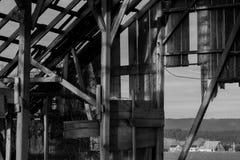 Εγκαταλειμμένη σιταποθήκη Στοκ φωτογραφίες με δικαίωμα ελεύθερης χρήσης