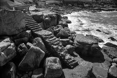 Εγκαταλειμμένη σκάλα Στοκ Φωτογραφία