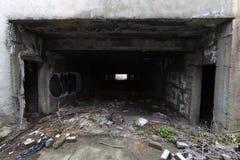 Εγκαταλειμμένη υπόγεια διάβαση στοκ φωτογραφίες με δικαίωμα ελεύθερης χρήσης