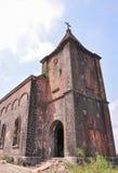 Εγκαταλειμμένη χριστιανική εκκλησία Στοκ Εικόνες