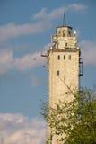 Εγκαταλειμμένος βιομηχανικός πύργος Στοκ φωτογραφία με δικαίωμα ελεύθερης χρήσης