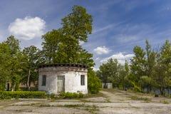 Εγκαταλειμμένος λιμένας του Τσέρνομπιλ Στοκ φωτογραφία με δικαίωμα ελεύθερης χρήσης