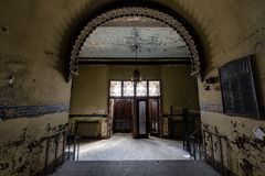 Εγκαταλειμμένος και ιστορικός ναός Irem για Shriners - wilkes-μπάρα, Πενσυλβανία Στοκ εικόνα με δικαίωμα ελεύθερης χρήσης