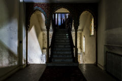 Εγκαταλειμμένος και ιστορικός ναός Irem για Shriners - wilkes-μπάρα, Πενσυλβανία Στοκ Εικόνα