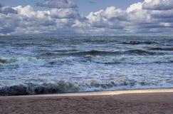 εγκαταλειμμένος ο παραλία γιος θάλασσας μητέρων νησιών χεριών προσδιορίζει τη θύελλα παράδεισος φύσης στοιχείων σχεδίου σύνθεσης Στοκ εικόνες με δικαίωμα ελεύθερης χρήσης
