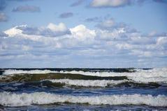 εγκαταλειμμένος ο παραλία γιος θάλασσας μητέρων νησιών χεριών προσδιορίζει τη θύελλα παράδεισος φύσης στοιχείων σχεδίου σύνθεσης Στοκ Φωτογραφία