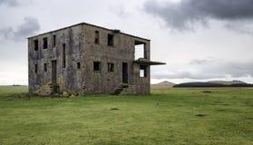 Εγκαταλειμμένος πύργος ελέγχου στοκ εικόνα με δικαίωμα ελεύθερης χρήσης