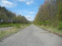 εγκαταλειμμένος δρόμος Στοκ φωτογραφίες με δικαίωμα ελεύθερης χρήσης