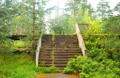 Εγκαταλειμμένος σιδηροδρομικός σταθμός Στοκ φωτογραφίες με δικαίωμα ελεύθερης χρήσης