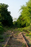 Εγκαταλειμμένος σιδηρόδρομος Στοκ Φωτογραφία