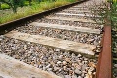 Εγκαταλειμμένος σιδηρόδρομος Στοκ Εικόνα