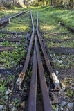 Εγκαταλειμμένος σιδηρόδρομος στοκ φωτογραφία με δικαίωμα ελεύθερης χρήσης