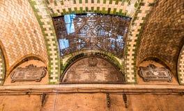 Εγκαταλειμμένος σταθμός του Δημαρχείου - πόλη της Νέας Υόρκης Στοκ Φωτογραφία