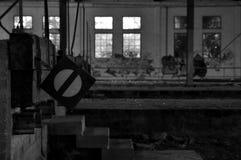 Εγκαταλειμμένος σταθμός τρένου Στοκ εικόνα με δικαίωμα ελεύθερης χρήσης