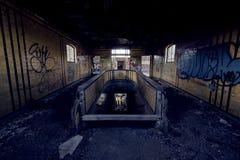 Εγκαταλειμμένος σταθμός τρένου - Buffalo, Νέα Υόρκη Στοκ φωτογραφία με δικαίωμα ελεύθερης χρήσης