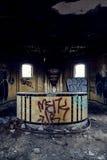 Εγκαταλειμμένος σταθμός τρένου - Buffalo, Νέα Υόρκη Στοκ Φωτογραφίες