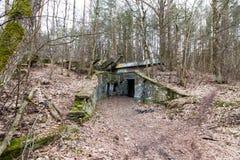 εγκαταλειμμένος σταθμό&si Στοκ φωτογραφία με δικαίωμα ελεύθερης χρήσης