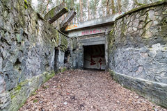 εγκαταλειμμένος σταθμό&si Στοκ εικόνα με δικαίωμα ελεύθερης χρήσης