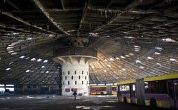 Εγκαταλειμμένος στόλος λεωφορείων Στοκ Εικόνες