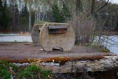 Εγκαταλειμμένος banch Στοκ φωτογραφίες με δικαίωμα ελεύθερης χρήσης