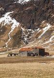 Εγκαταλειμμένο αγρόκτημα στην Ισλανδία Στοκ εικόνα με δικαίωμα ελεύθερης χρήσης