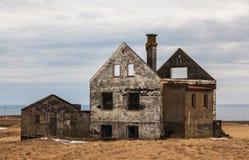 Εγκαταλειμμένο αγρόκτημα στην Ισλανδία Στοκ φωτογραφία με δικαίωμα ελεύθερης χρήσης