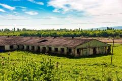 εγκαταλειμμένο αγρόκτημ& στοκ φωτογραφίες με δικαίωμα ελεύθερης χρήσης