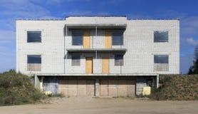Εγκαταλειμμένο ατελές αγροτικό σπίτι Στοκ Εικόνες