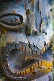 Εγκαταλειμμένο γλυπτό Tiki στοκ εικόνες