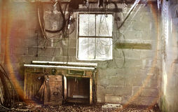 Εγκαταλειμμένο εργαστήριο Στοκ Εικόνες