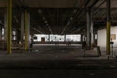Εγκαταλειμμένο εργοστάσιο στην καταστροφή Στοκ Εικόνες