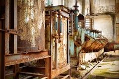 εγκαταλειμμένο εργοστάσιο Στοκ εικόνα με δικαίωμα ελεύθερης χρήσης