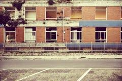 εγκαταλειμμένο εργοστάσιο στοκ φωτογραφίες
