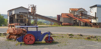 εγκαταλειμμένο εργοστάσιο Στοκ Φωτογραφία